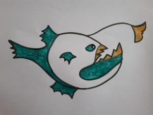 Lanternox - Ancetre du poisson lanterne